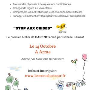 Stop aux crises, à Arras (62) animé par Manuelle Beddeleem