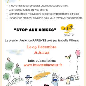 Stop aux crises! Le 09 Décembre à Arras
