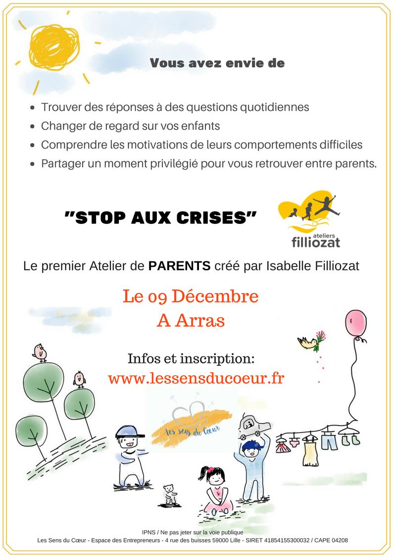 Atelier Stop aux crises Manuelle BEDDELEEM Les Sens du Coeur