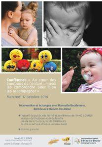 Les émotions de l'enfant - Les Sens du Coeur - Manuelle BEDDELEEM